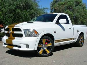 hemi truck 22 inch wheels