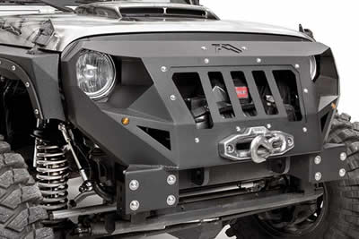 Fab Fours Grumper Jeep Front bumper