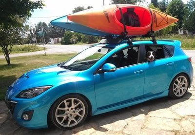 car kayak transporter