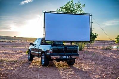 pickup truck hitch theatre