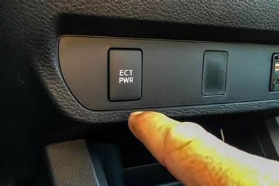 transmission ect button