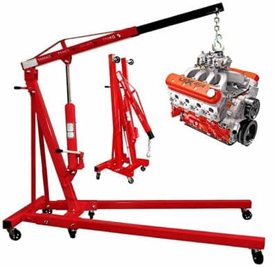 Portable cherry picker hoist