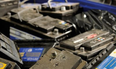 car battery disposal